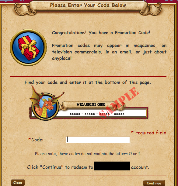 wizard101 game card code generator